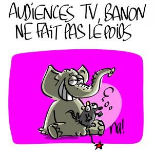 Nactualités : audiences TV, Tristane Banon ne fait pas le poids