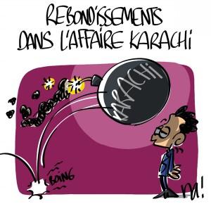 Nactualités : rebondissements dans «l'affaire Karachi»