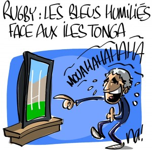 Nactualités : Rugby : les Bleus humiliés face aux îles Tonga