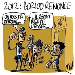 Nactualités : 2012, Jean-Louis Borloo renonce