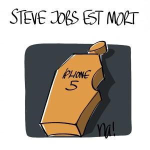 Nactualités : Steve Jobs (patron d'Apple) est mort