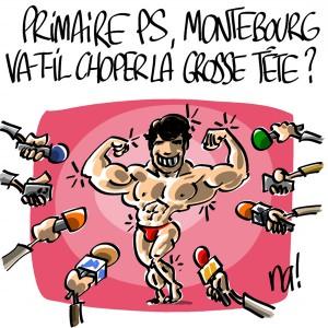 Nactualités : Primaire PS, Arnaud Montebourg va-t-il choper la grosse tête ?