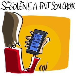 Nactualités : Primaire PS, Ségolène a fait son choix