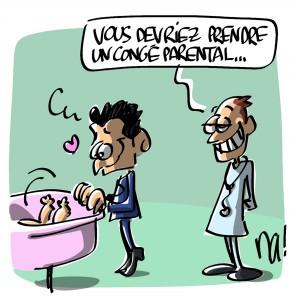 Nactualités : Nicolas Sarkozy à nouveau papa