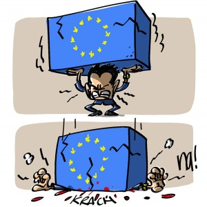 Nactualités : l'Europe fait krach