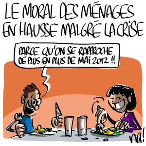 Nactualités : le moral des ménages en hausse malgré la crise