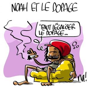 Nactualités : Yannick Noah et le dopage