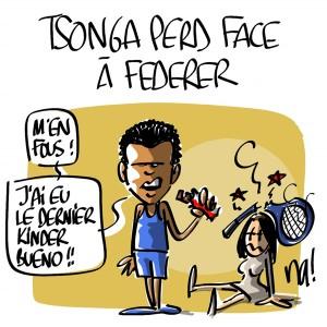 Nactualités : Tsonga perd face à Federer