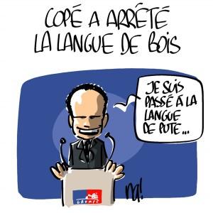 Nactualités : Jean-François Copé a arrêté la langue de bois