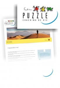 Création d'un logo pour «Puzzle – Coaching de vie»
