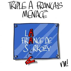Nactualités : triple A français menacé