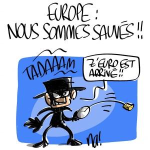 Nactualités : Europe, nous sommes sauvés !!