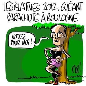 Nactualités : législatives 2012, Claude Guéant parachuté à Boulogne