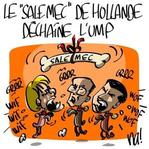 Nactualités : le «sale mec» de Hollande déchaîne l'UMP