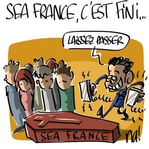 Nactualités : Sea France, c'est fini…