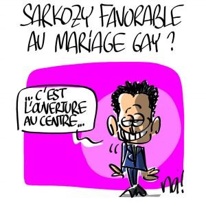 Nactualités : Nicolas Sarkozy favorable au mariage gay ?