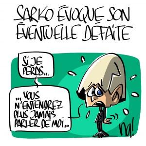 Nactualités : Nicolas Sarkozy évoque son éventuelle défaite