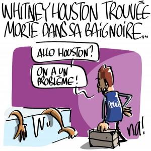 Nactualités : Whitney Houston trouvée morte dans sa baignoire