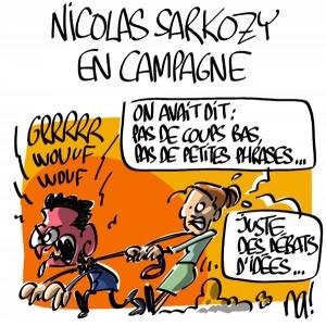 Nactualités : Nicolas Sarkozy en campagne