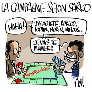 Nactualités : la campagne présidentielle selon Nicolas Sarkozy