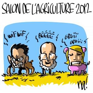 Nactualités : salon de l'agriculture 2012