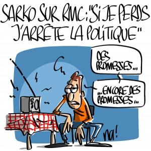 Nactualités : Nicolas Sarkozy sur RMC «si je perds, j'arrête la politique»