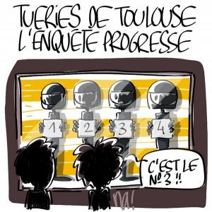 Nactualités : tueries de Toulouse, l'enquête progresse !