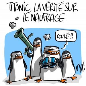 Nactualités : Titanic, la vérité sur le naufrage