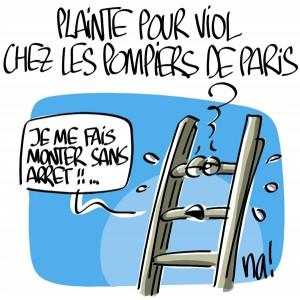 Nactualités : plainte pour viol chez les pompiers de Paris