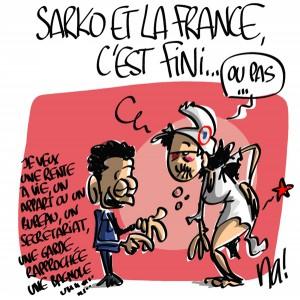 Nactualités : Sarkozy et la France, c'est fini…