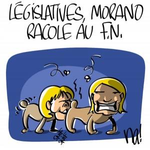 Nactualités : législatives, Nadine Morano racole au FN