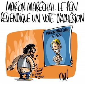 Nactualités : Vaucluse, Marion Maréchal-Le Pen revendique un vote d'adhésion