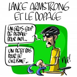 Nactualités : Lance Armstrong et le dopage
