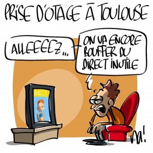 Nactualités : prise d'otage à Toulouse