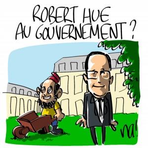 Nactualités : Robert Hue a failli être au gouvernement