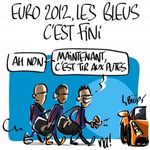 Nactualités : Euro2012, les bleus, c'est fini…