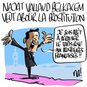 Nactualités : Najat Vallaud Belkacem veut abolir la prostitution