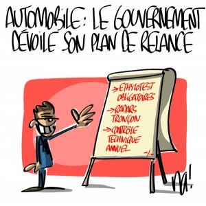 Nactualités : automobile, le gouvernement dévoile son plan de relance