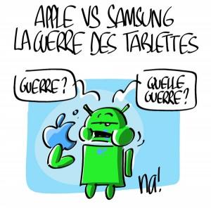 Nactualités : Apple vs Samsung, la guerre des tablettes