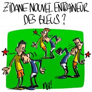 Nactualités : Zidane nouvel entraineur des Bleus ?