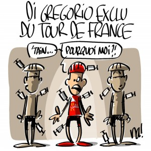 Nactualités : Di Grégorio exclu du Tour de France