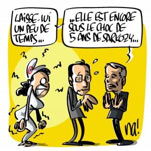 Nactualités : Hollande chute dans les sondages