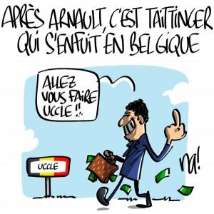 Nactualités : après (ou avant) Arnault, c'est Taittinger qui s'enfuit en Belgique