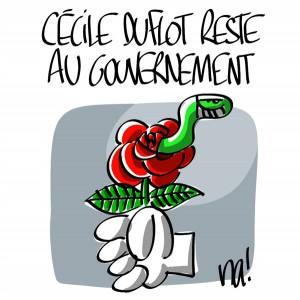 Nactualités : Cécile Duflot reste au gouvernement
