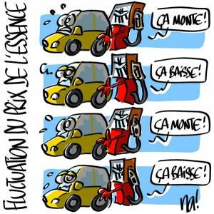 Nactualités : les fluctuations du prix de l'essence