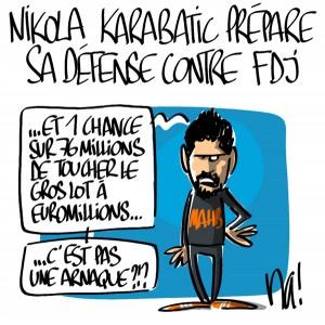 Nactualités : Nikola Karabatic prépare sa défense contre FDJ