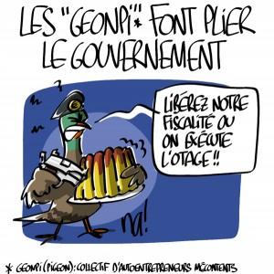 Nactualités : les «geonpi» font plier le gouvernement