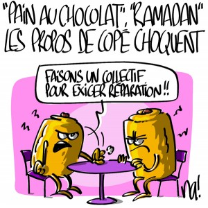 Nactualités : «pain au chocolat», «ramadan», les propos de Jean-François Copé choquent
