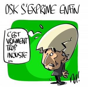Nactualités : DSK s'exprime enfin