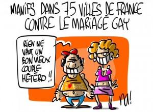 Nactualités : manifs dans 75 villes de France contre le mariage gay